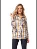 Dex Plaid Button Front Shirt