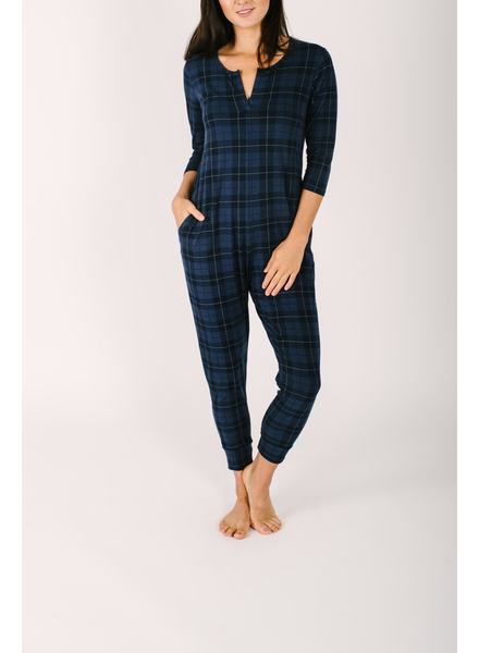Smash & Tess Present in Plaid Romper