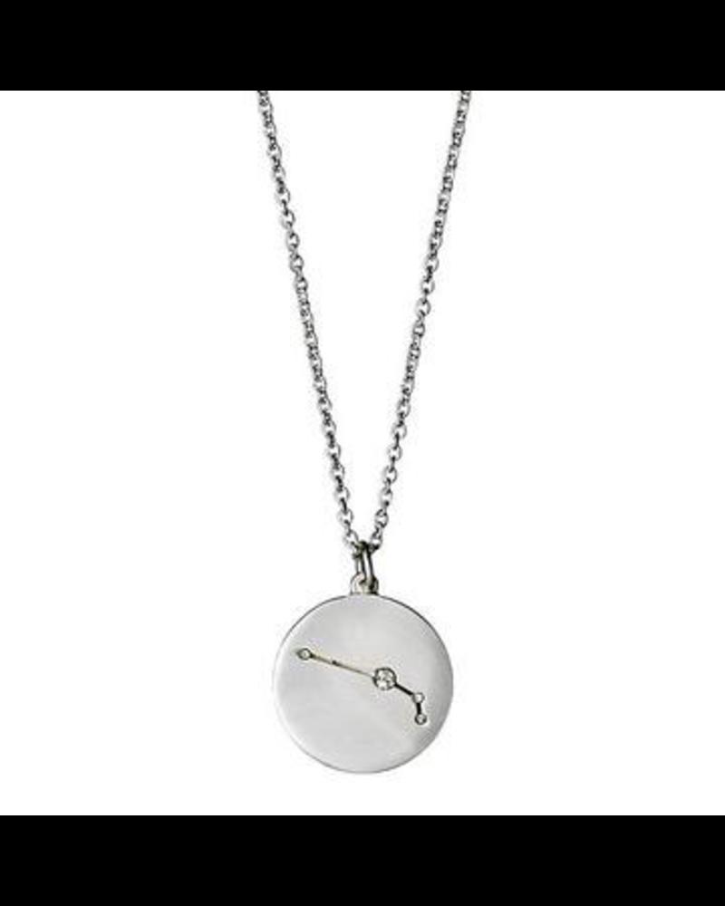 Pilgrim Aries Silver Necklace