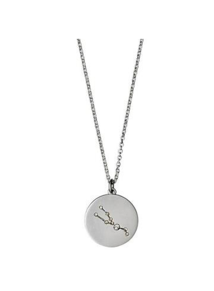 Pilgrim Taurus Silver Necklace