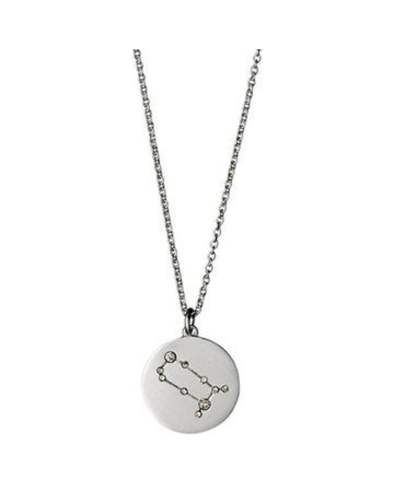 Pilgrim Gemini Silver Necklace