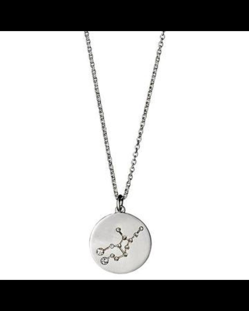 Pilgrim Virgo Silver Necklace
