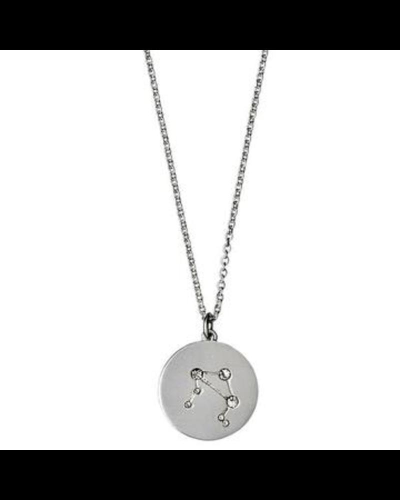 Pilgrim Libra Silver Necklace
