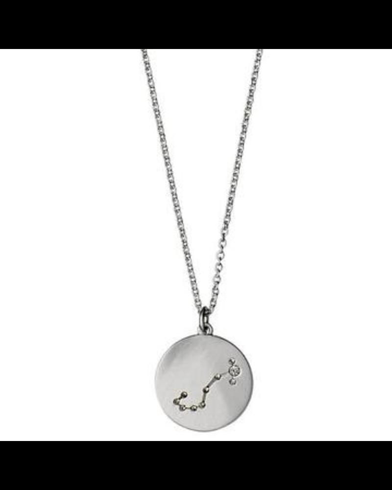 Pilgrim Scorpio Silver Necklace