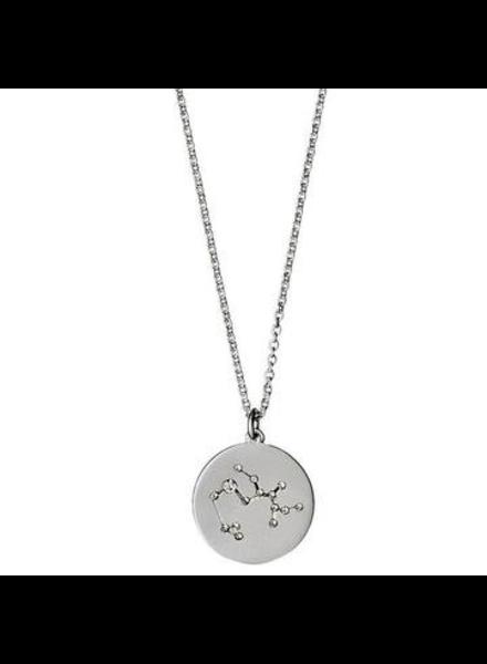 Pilgrim Sagittarius Silver Necklace