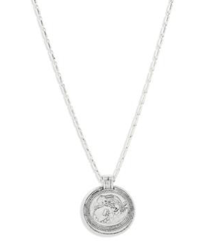 Pilgrim Ran Silver Necklace