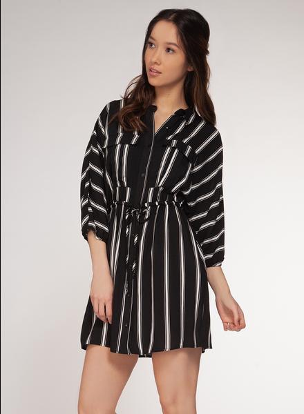 Dex 3/4 Sleeve Shirt Dress