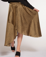 Dex Faux Wrap Pull On Skirt