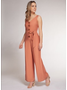 Dex Dex V Neck Jumpsuit