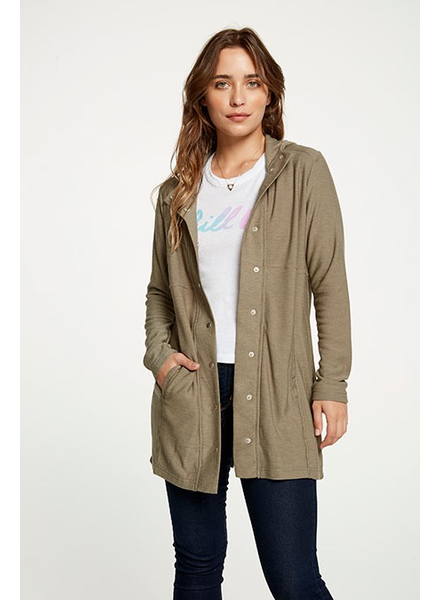 Chaser Chaser Hooded Coat