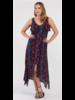 Tribal Tribal High Low Maxi Dress
