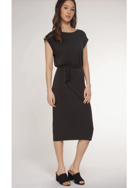 Dex Dex Dress Belt Popover Dress