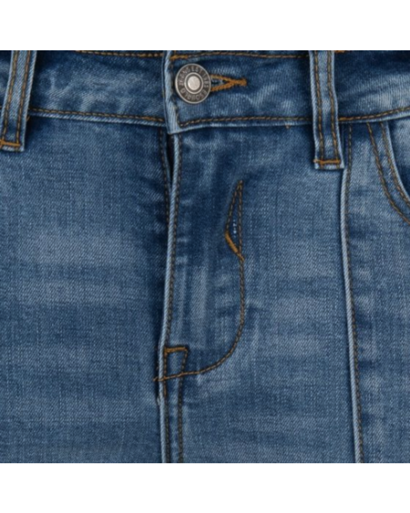Esqualo Esqualo Kick Flair Jeans