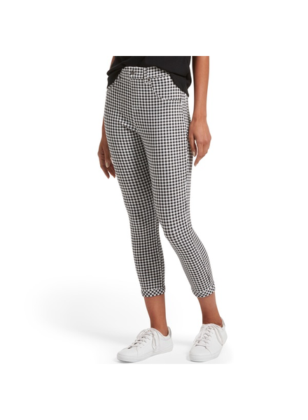 HUE Hue Gingham High Waist Capri
