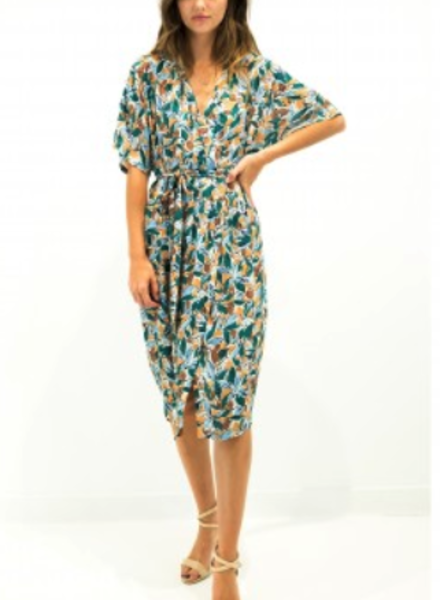 See U Soon See U Soon Multi Print Dress