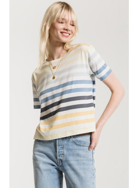 Z Supply Z Supply Rainbow Stripe Tee
