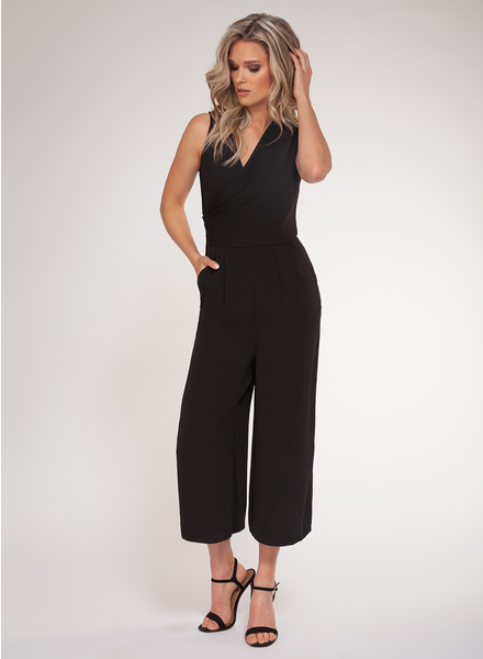 Black Tape Black Tape Sleeveless Jumpsuit
