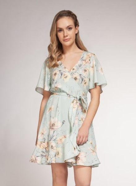 Dex Dex Wrap Dress