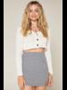 Sadie & Sage Sadie & Sage Gingham Skirt
