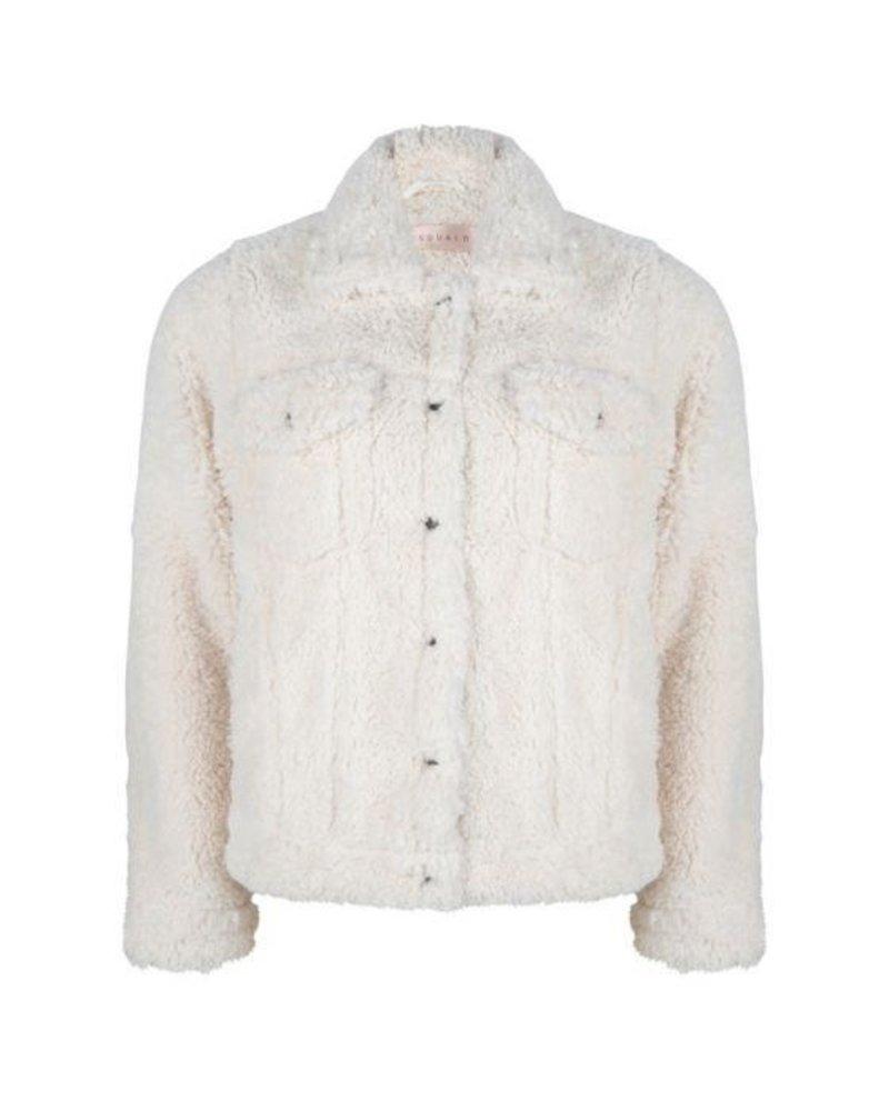 Esqualo Esqualo Faux Fur Coat
