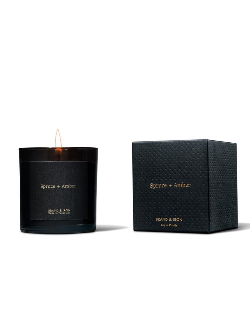 Brand & Iron Brand & Iron Spruce & Amber Candle
