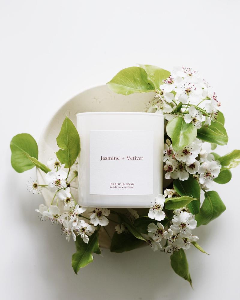 Brand & Iron Brand & Iron Jasmine & Vetiver Candle