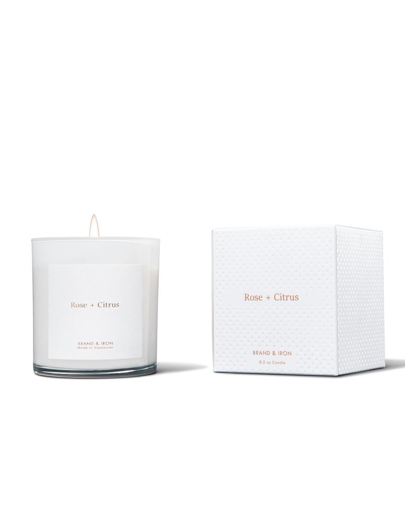 Brand & Iron Brand & Iron Rose & Citrus Candle