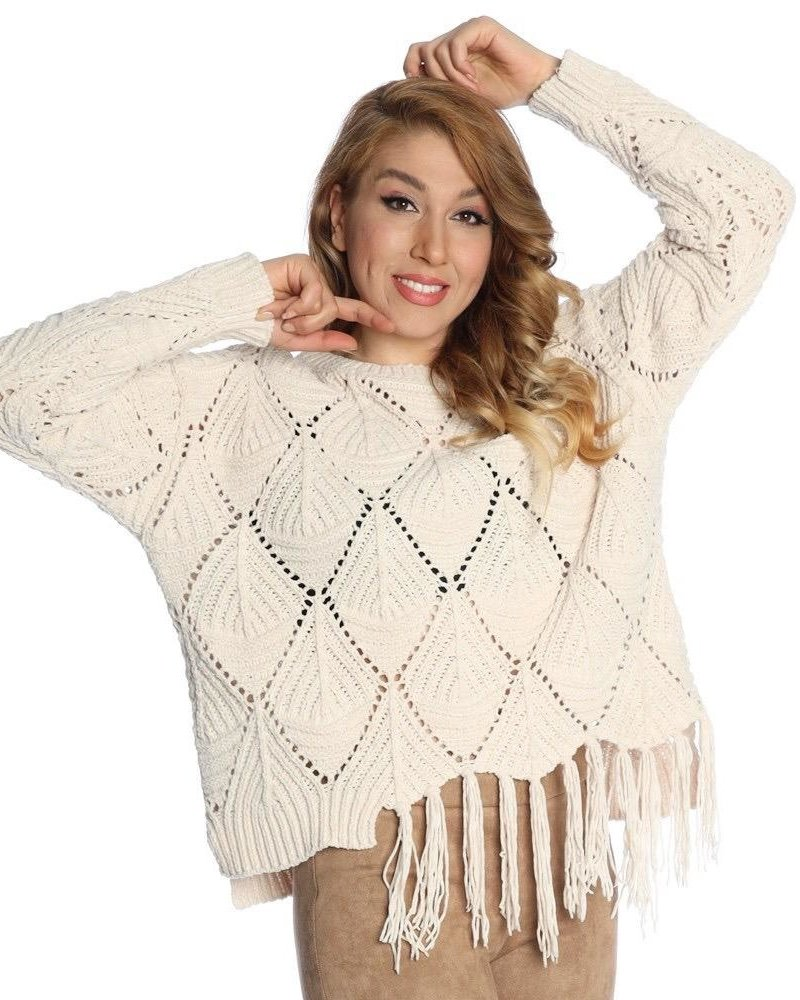 Michael Tyler Fringed Sweater