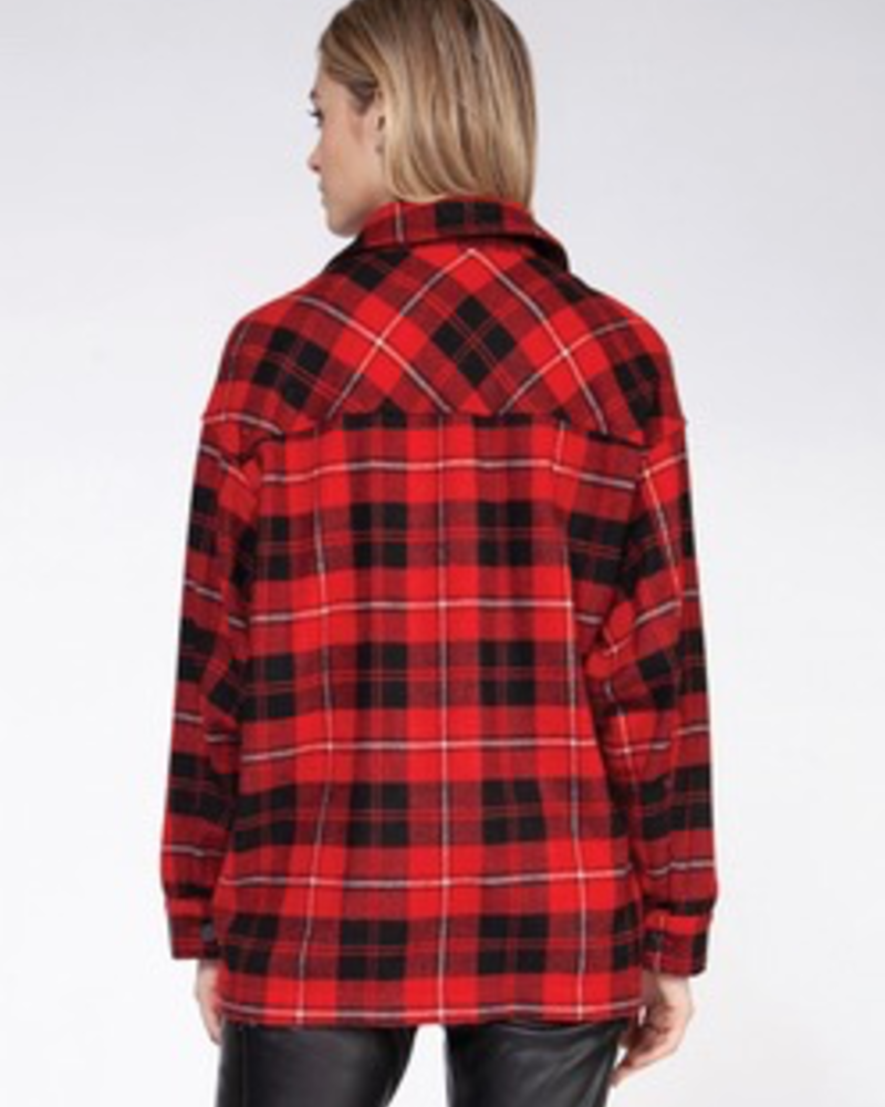 Dex Dex Plaid Overshirt