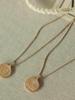 Pilgrim Pilgrim Horoscope Double Sided Necklace