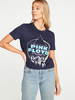 Chaser Chaser Pink Floyd Cropped Tee