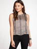 Chaser Chaser Stretch Silky Cropped Tank