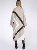 Dex Dex Chevron Stripe Open Cardigan