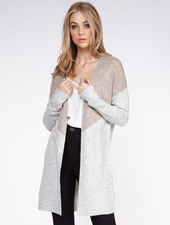 Dex Dex Colour Block Cardigan