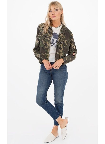 White Crow Take Cover Camo Jacket