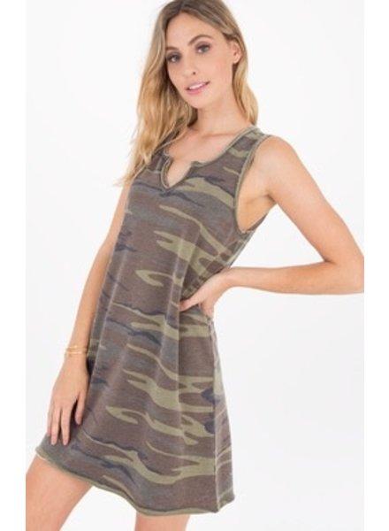 Z Supply Camo Tank Dress