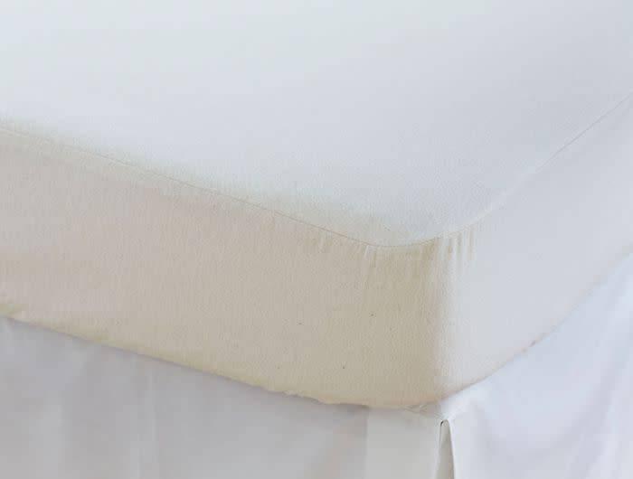 Coyuchi Crib Mattress Protector, Organic Cotton