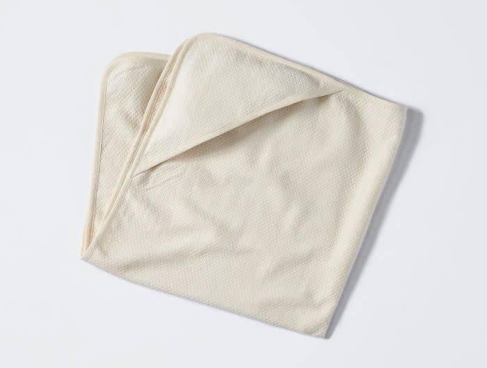 """Coyuchi Mediterranean Swaddle Blanket, 40"""" x 40"""" - Undyed"""