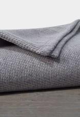 """Coyuchi Sequoia Cotton + Wool Throw, 50"""" x 70"""" - Gray"""
