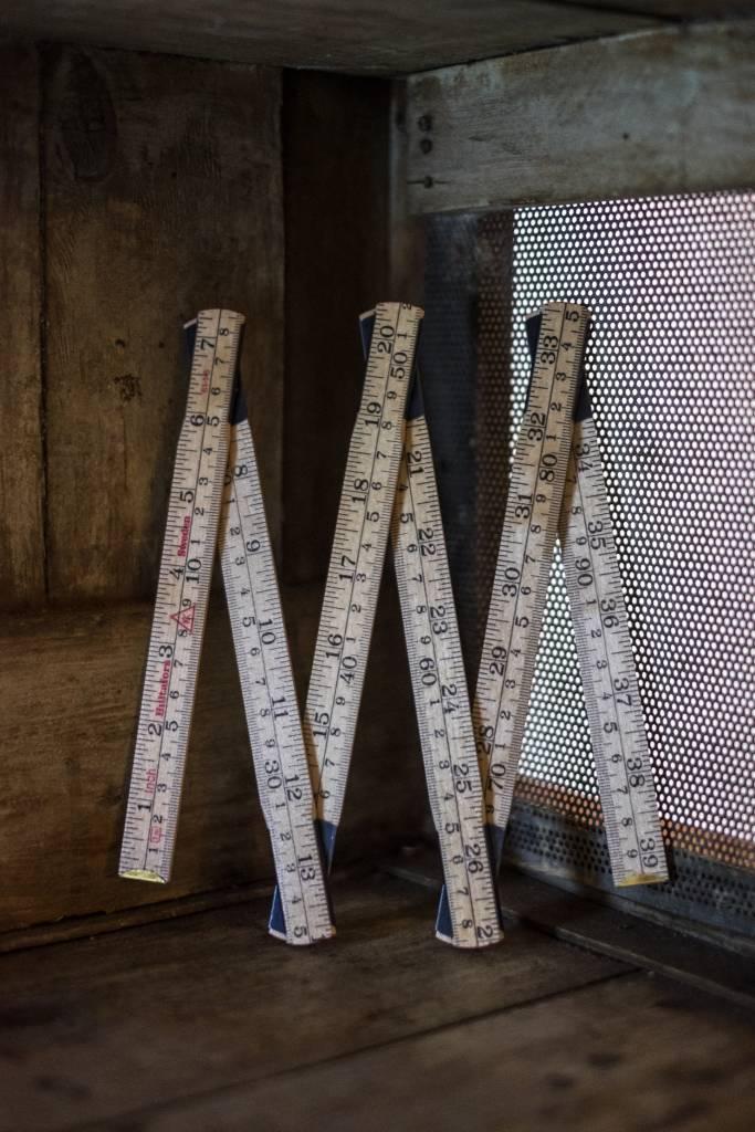 Merchant & Mills England Wooden Folding Ruler