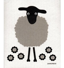 Jangneus Black Sheep Swedish Dishcloth