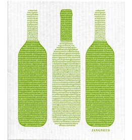 Jangneus Green Wine Swedish Dishcloth