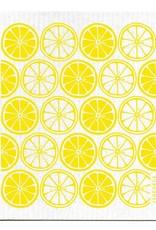 Jangneus Yellow Citrus Swedish Dishcloth