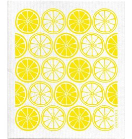Jangneus Yellow Citrus Swedish Dishcloth