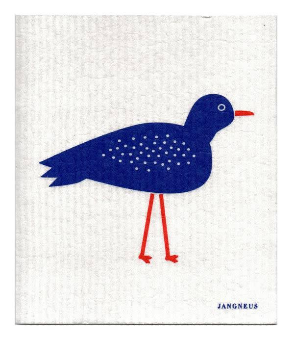 Jangneus Blue Bird Swedish Dishcloth