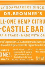 Dr. Bronner's Dr. Bronner's Castile Bar Soap, Citrus Orange 5 oz.
