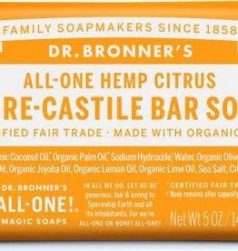 Dr. Bronner's Dr. Bronner's Castile Bar Soap, Citrus Orange 5 oz.
