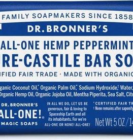 Dr. Bronner's Dr. Bronner's Castile Bar Soap, Peppermint 5 oz.