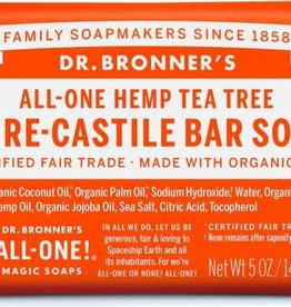 Dr. Bronner's Dr. Bronner's Castile Bar Soap, Tea Tree 5 oz.