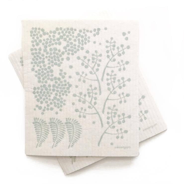 Sweetgum Forest Swedish Dishcloth